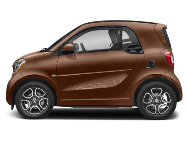 Autumn Brown Metallic 2019 smart EQ fortwo Pictures EQ fortwo pure coupe photos side view