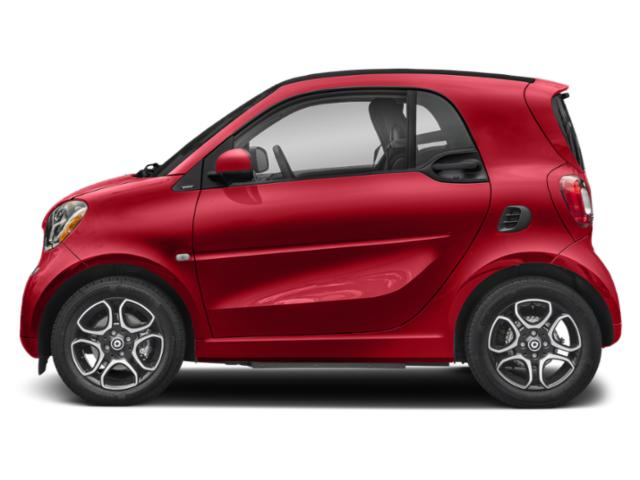 Red 2019 smart EQ fortwo Pictures EQ fortwo pure coupe photos side view