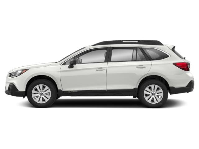 Crystal White Pearl 2019 Subaru Outback Pictures Outback 2.5i photos side view