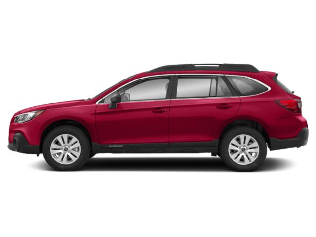 Crimson Red Pearl 2019 Subaru Outback Pictures Outback 2.5i photos side view