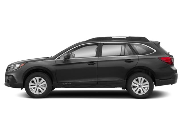 Magnetite Gray Metallic 2019 Subaru Outback Pictures Outback 2.5i photos side view