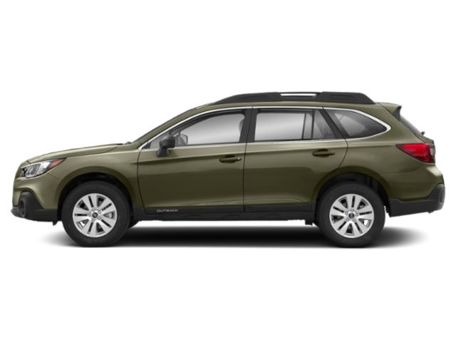 Wilderness Green Metallic 2019 Subaru Outback Pictures Outback 2.5i photos side view