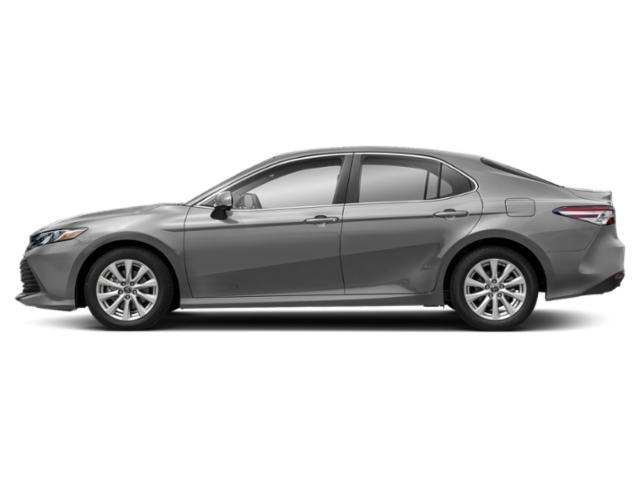 Celestial Silver Metallic 2019 Toyota Camry Pictures Camry LE Auto photos side view