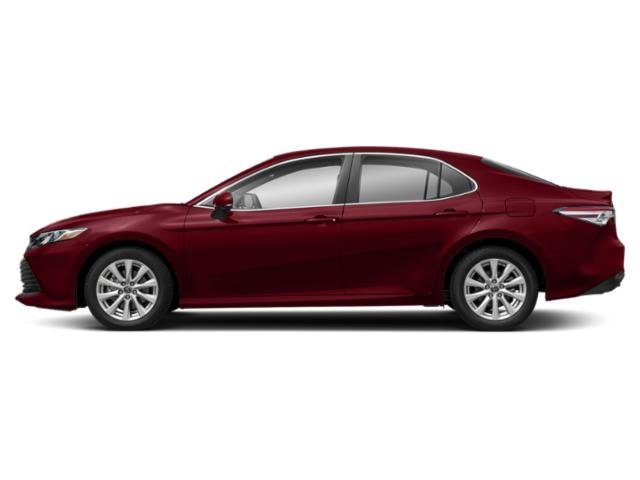 Ruby Flare Pearl 2019 Toyota Camry Pictures Camry LE Auto photos side view