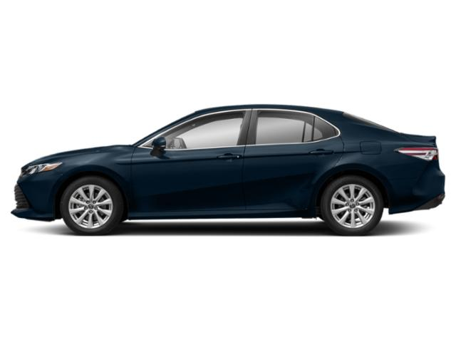 Galactic Aqua Mica 2019 Toyota Camry Pictures Camry LE Auto photos side view