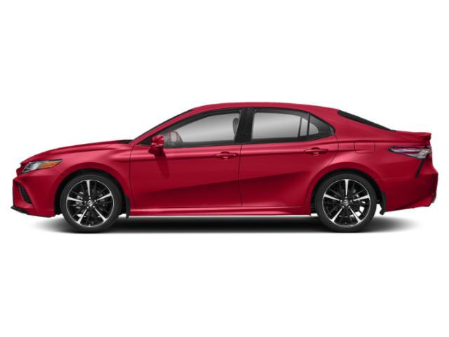 Supersonic Red 2019 Toyota Camry Pictures Camry XSE Auto photos side view
