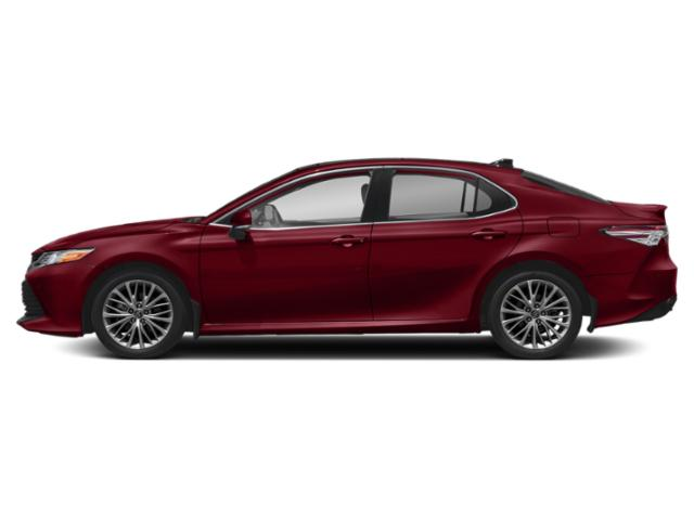 Ruby Flare Pearl 2019 Toyota Camry Pictures Camry XLE Auto photos side view