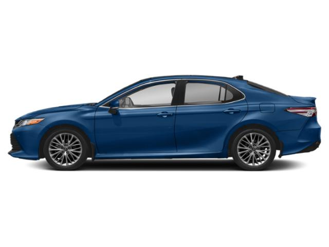 Blue Streak Metallic 2019 Toyota Camry Pictures Camry XLE V6 Auto photos side view