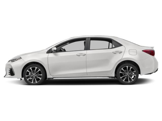 Super White 2019 Toyota Corolla Pictures Corolla XSE CVT photos side view