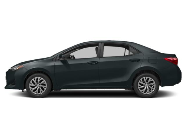 Slate Metallic 2019 Toyota Corolla Pictures Corolla LE Eco CVT photos side view