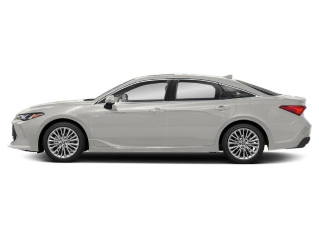 Wind Chill Pearl 2019 Toyota Avalon Pictures Avalon Hybrid Limited photos side view