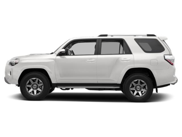 Super White 2019 Toyota 4Runner Pictures 4Runner TRD Off Road 4WD photos side view