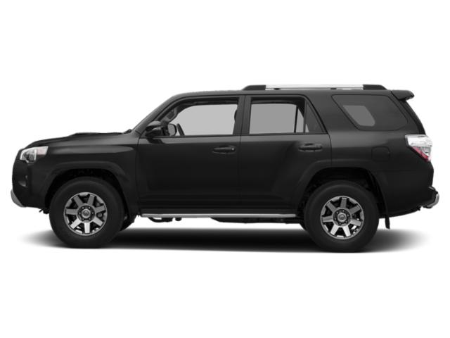 Midnight Black Metallic 2019 Toyota 4Runner Pictures 4Runner TRD Off Road 4WD photos side view