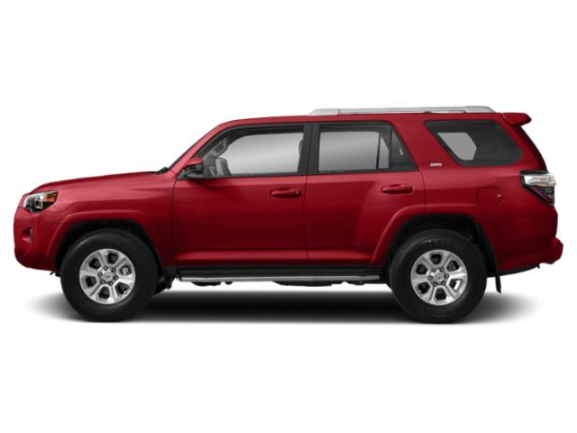 Barcelona Red Metallic 2019 Toyota 4Runner Pictures 4Runner SR5 2WD photos side view