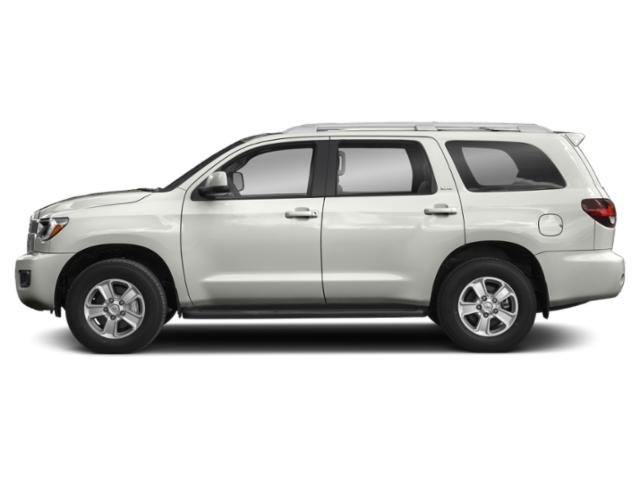 Blizzard Pearl 2019 Toyota Sequoia Pictures Sequoia Platinum 4WD photos side view