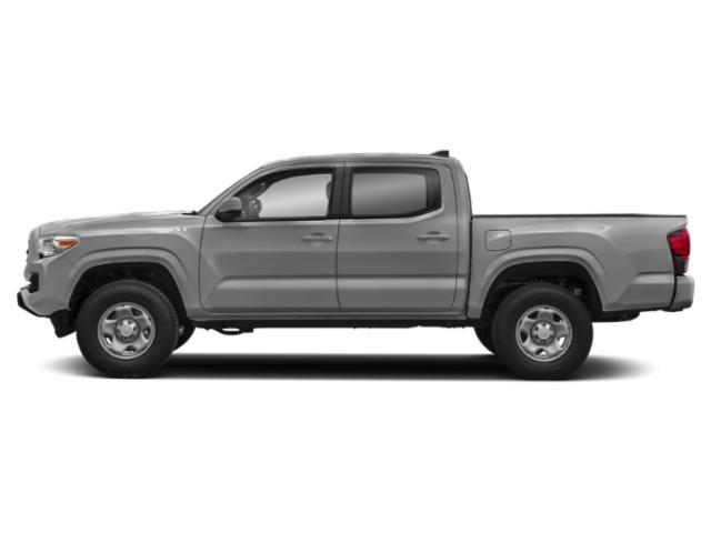 Silver Sky Metallic 2019 Toyota Tacoma 2WD Pictures Tacoma 2WD SR Double Cab 5' Bed I4 AT photos side view