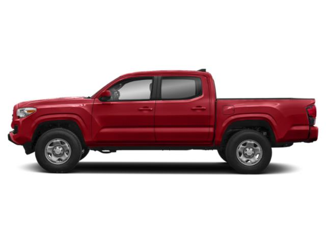 Barcelona Red Metallic 2019 Toyota Tacoma 2WD Pictures Tacoma 2WD SR Double Cab 5' Bed I4 AT photos side view