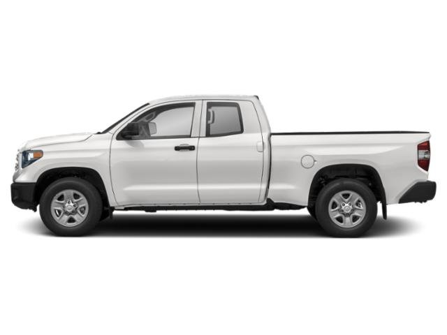 Super White 2019 Toyota Tundra 4WD Pictures Tundra 4WD SR5 Double Cab 6.5' Bed 4.6L photos side view