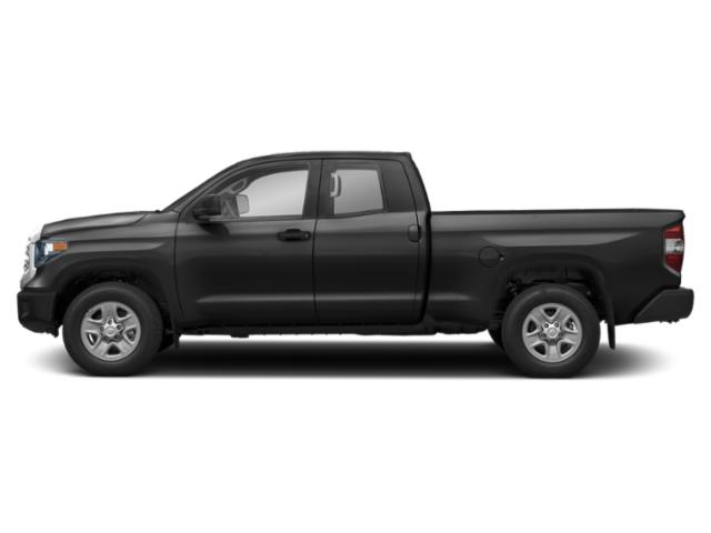Midnight Black Metallic 2019 Toyota Tundra 4WD Pictures Tundra 4WD SR5 Double Cab 6.5' Bed 4.6L photos side view