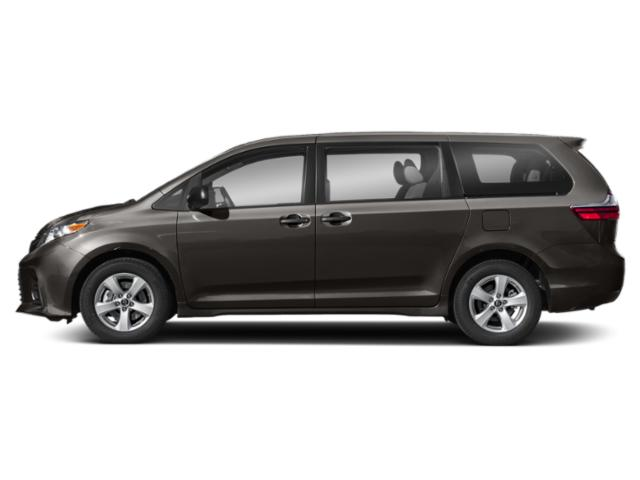 Predawn Gray Mica 2019 Toyota Sienna Pictures Sienna Limited Premium AWD 7-Passenger photos side view