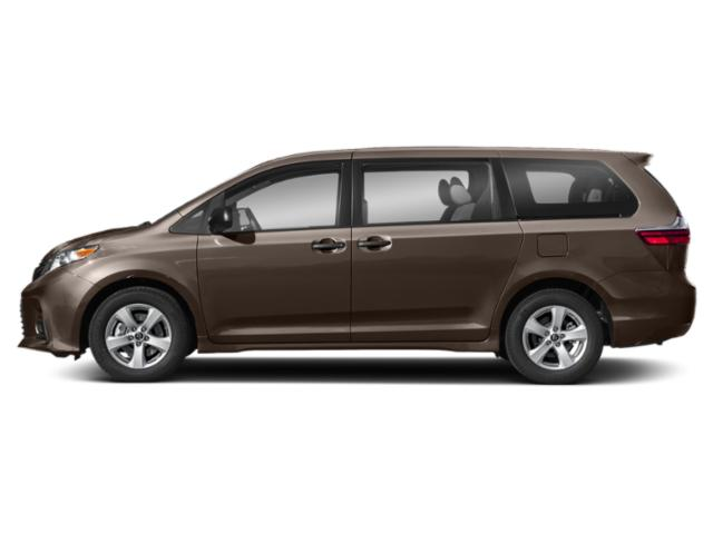 Toasted Walnut Pearl 2019 Toyota Sienna Pictures Sienna Limited Premium AWD 7-Passenger photos side view