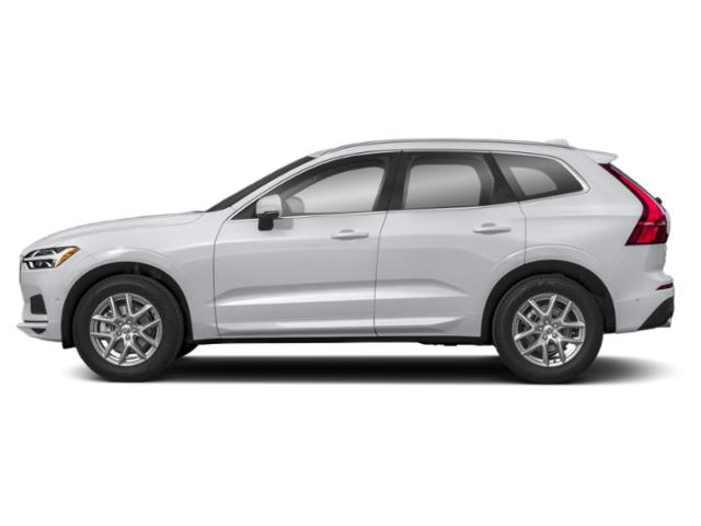 Ice White 2019 Volvo XC60 Pictures XC60 T5 FWD Inscription photos side view