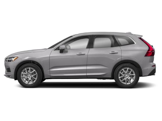 Bright Silver Metallic 2019 Volvo XC60 Pictures XC60 T5 FWD Inscription photos side view