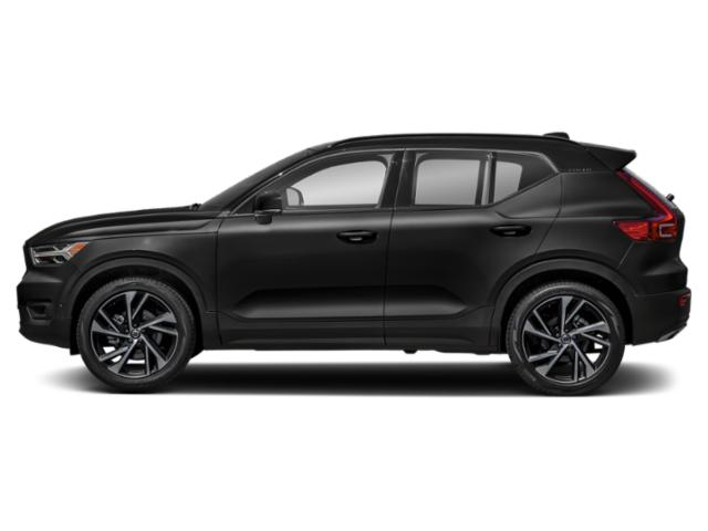 Black Stone 2019 Volvo XC40 Pictures XC40 T4 FWD R-Design photos side view