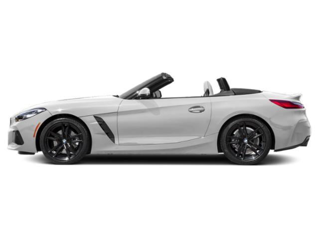 Mineral White Metallic 2020 BMW Z4 Pictures Z4 sDrive30i Roadster photos side view