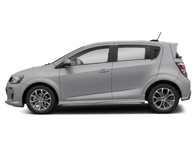Silver Ice Metallic 2020 Chevrolet Sonic Pictures Sonic 5dr HB Premier photos side view