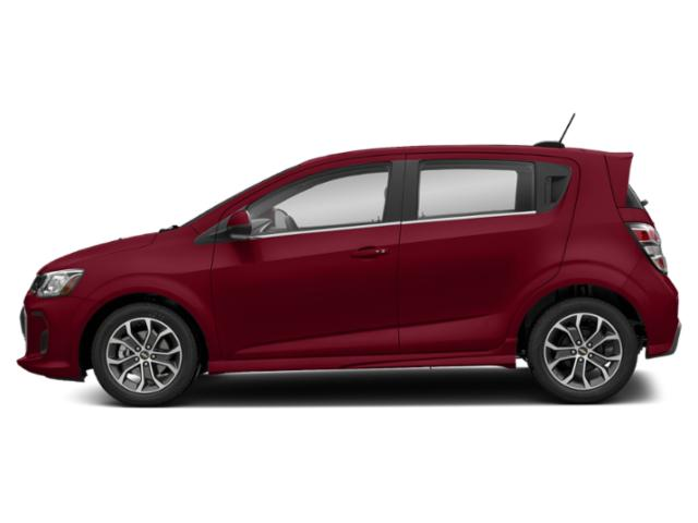 Cajun Red Tintcoat 2020 Chevrolet Sonic Pictures Sonic 5dr HB Premier photos side view