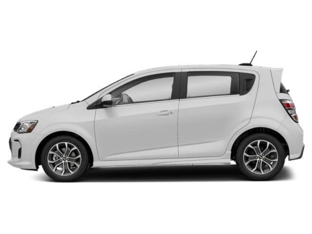 Summit White 2020 Chevrolet Sonic Pictures Sonic 5dr HB Premier photos side view