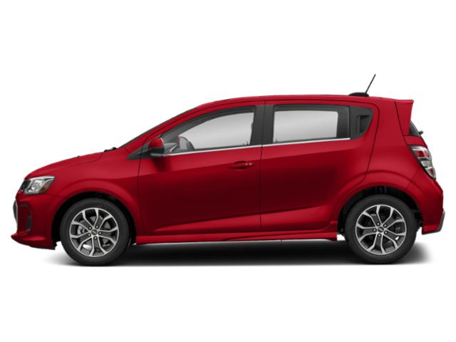 Red Hot 2020 Chevrolet Sonic Pictures Sonic 5dr HB Premier photos side view