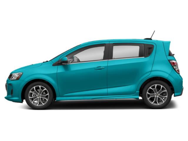 Oasis Blue 2020 Chevrolet Sonic Pictures Sonic 5dr HB Premier photos side view