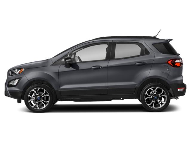 Smoke Metallic 2020 Ford EcoSport Pictures EcoSport S FWD photos side view