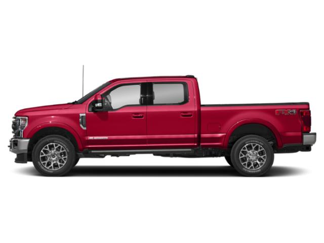 Rapid Red Metallic Tinted Clearcoat 2020 Ford Super Duty F-250 SRW Pictures Super Duty F-250 SRW King Ranch 2WD Crew Cab 6.75' Box photos side view