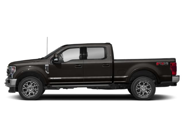 Agate Black Metallic 2020 Ford Super Duty F-250 SRW Pictures Super Duty F-250 SRW King Ranch 2WD Crew Cab 6.75' Box photos side view