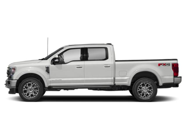 Oxford White 2020 Ford Super Duty F-250 SRW Pictures Super Duty F-250 SRW King Ranch 2WD Crew Cab 6.75' Box photos side view