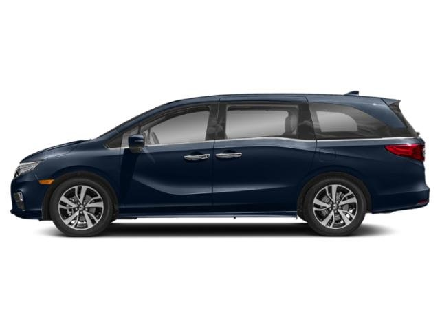 Obsidian Blue Pearl 2020 Honda Odyssey Pictures Odyssey Elite Auto photos side view