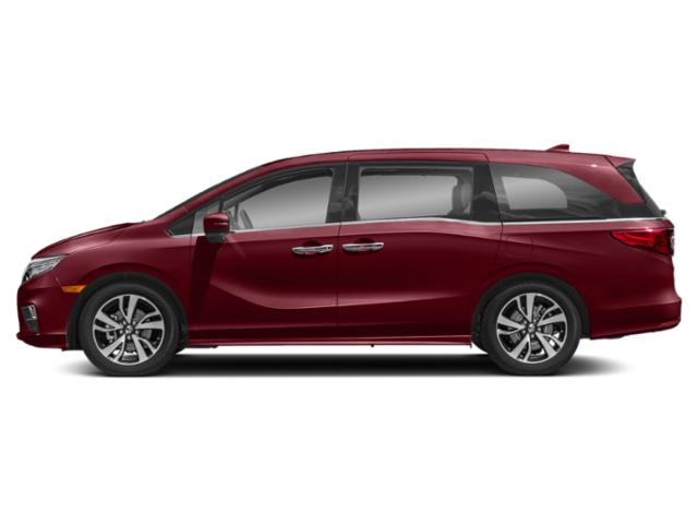 Deep Scarlet Pearl 2020 Honda Odyssey Pictures Odyssey Elite Auto photos side view