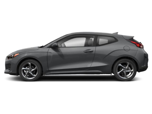 Sonic Silver 2020 Hyundai Veloster Pictures Veloster 2.0 Auto photos side view