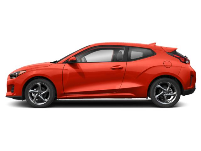 Sunset Orange 2020 Hyundai Veloster Pictures Veloster 2.0 Auto photos side view