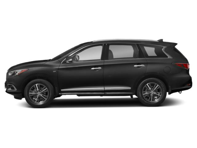 Graphite Shadow 2020 INFINITI QX60 Pictures QX60 LUXE AWD photos side view