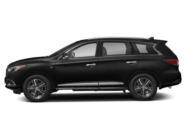 Black Obsidian 2020 INFINITI QX60 Pictures QX60 LUXE AWD photos side view