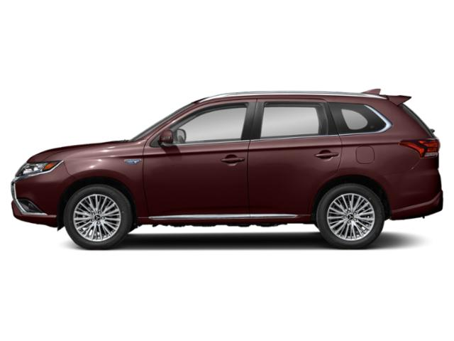 Ruby Black Pearl 2020 Mitsubishi Outlander PHEV Pictures Outlander PHEV SEL S-AWC photos side view