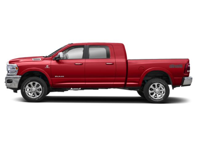 Bright Red 2020 Ram Truck 2500 Pictures 2500 Lone Star 4x4 Mega Cab 6'4 Box photos side view