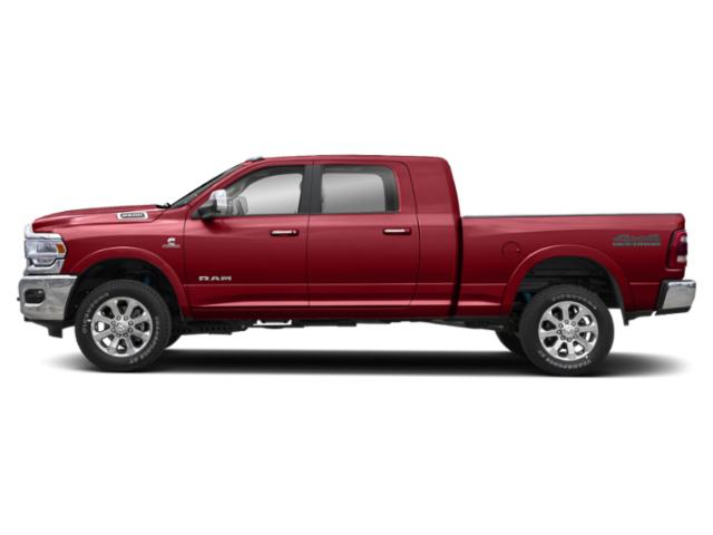 Flame Red Clearcoat 2020 Ram Truck 2500 Pictures 2500 Lone Star 4x4 Mega Cab 6'4 Box photos side view
