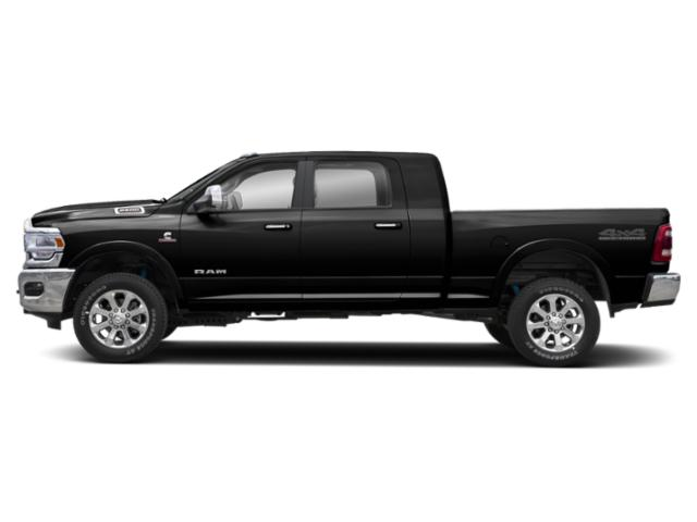 Diamond Black Crystal Pearlcoat 2020 Ram Truck 2500 Pictures 2500 Lone Star 4x4 Mega Cab 6'4 Box photos side view