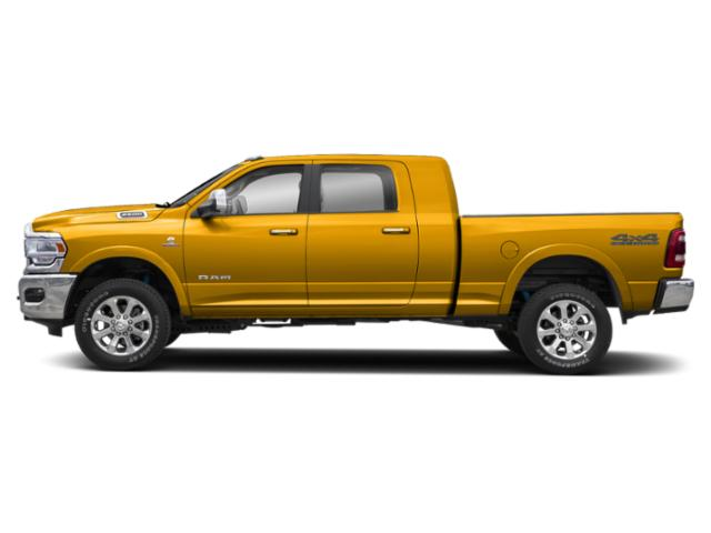 Detonator Yellow Clearcoat 2020 Ram Truck 2500 Pictures 2500 Lone Star 4x4 Mega Cab 6'4 Box photos side view