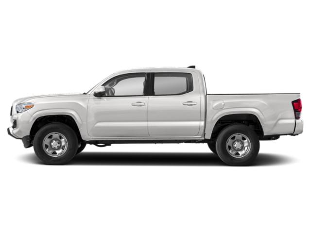 Super White 2020 Toyota Tacoma 4WD Pictures Tacoma 4WD TRD Off Road Double Cab 6' Bed V6 AT photos side view